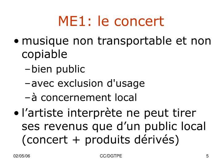 ME1: le concert
