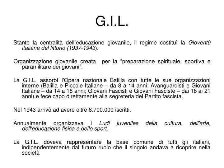 G.I.L.