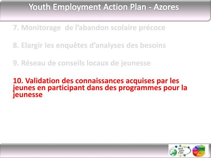 Youth Employment Action Plan -