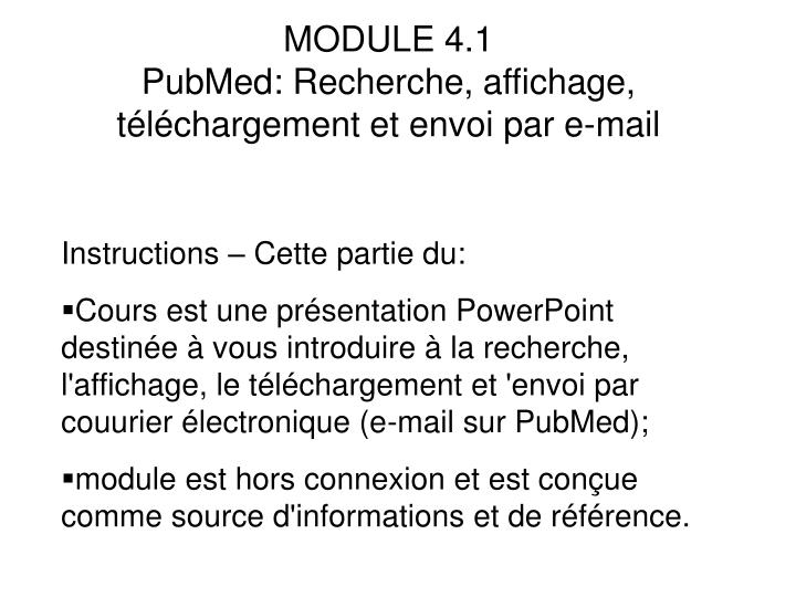 MODULE 4.1