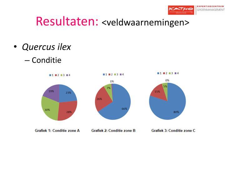 Resultaten: