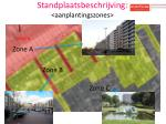 standplaatsbeschrijving aanplantingszones