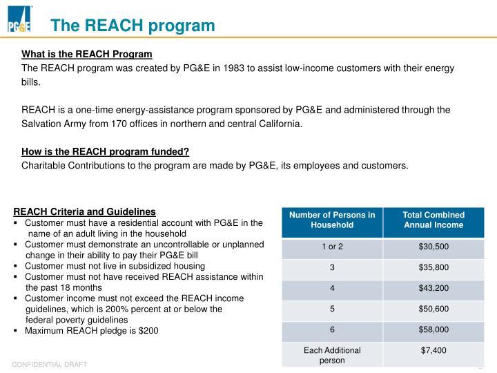 The REACH program