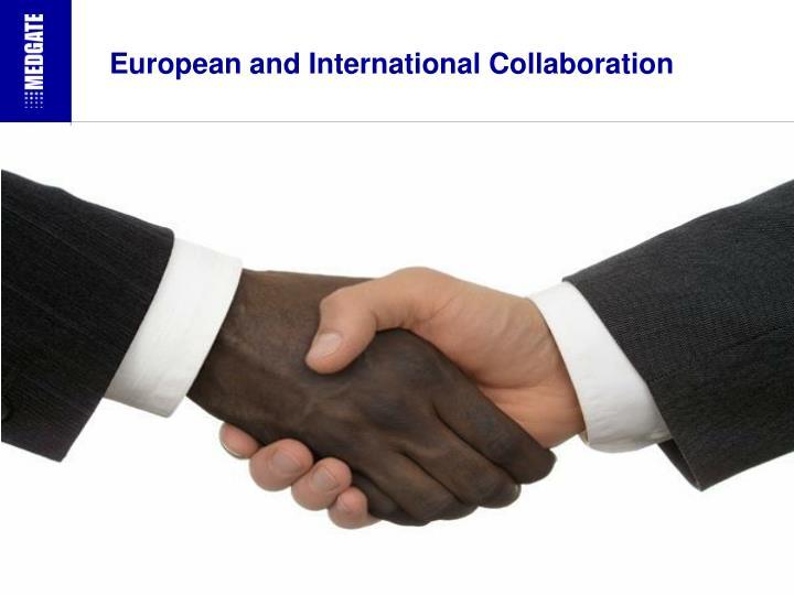 European and International Collaboration