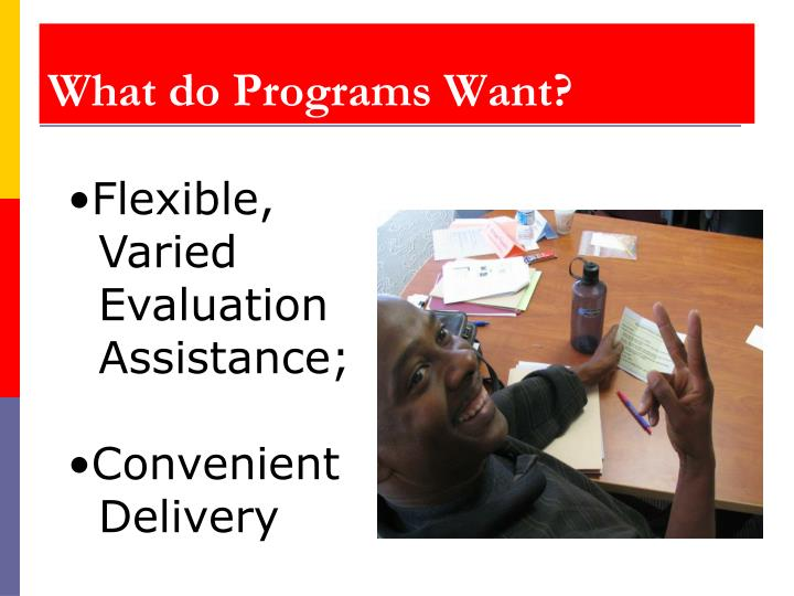 What do Programs Want?
