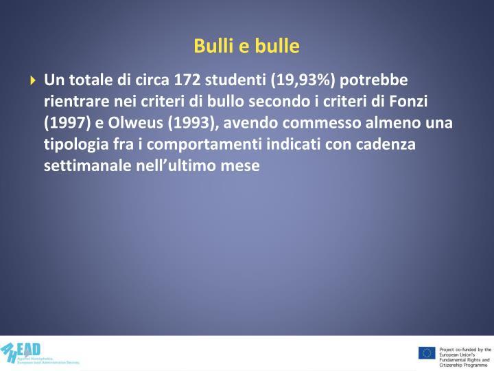 Bulli e bulle