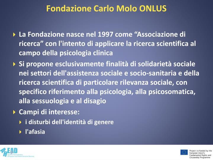Fondazione Carlo Molo ONLUS
