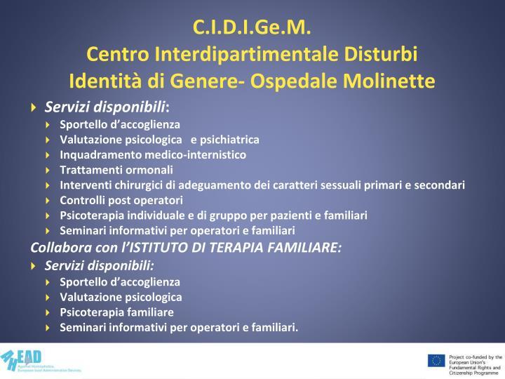 C.I.D.I.Ge.M.