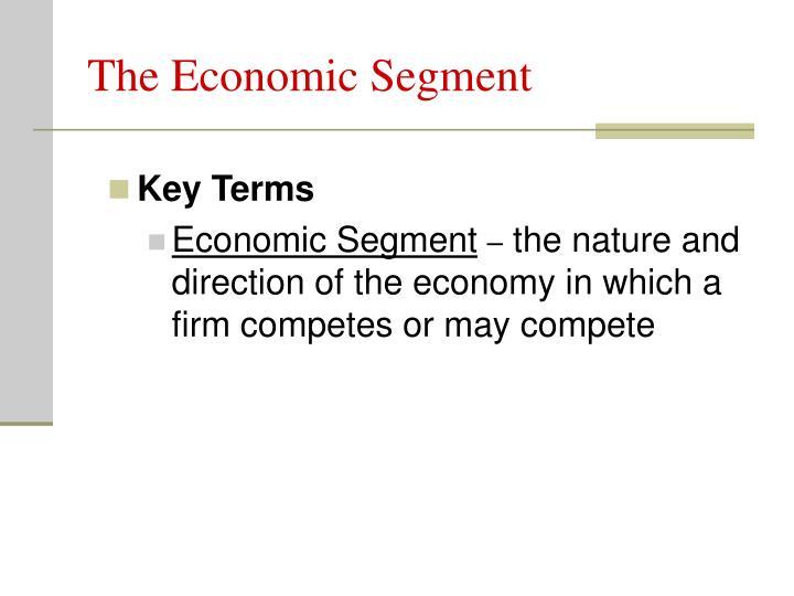 The Economic Segment