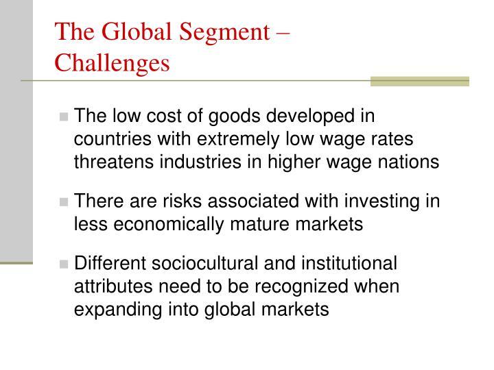 The Global Segment –