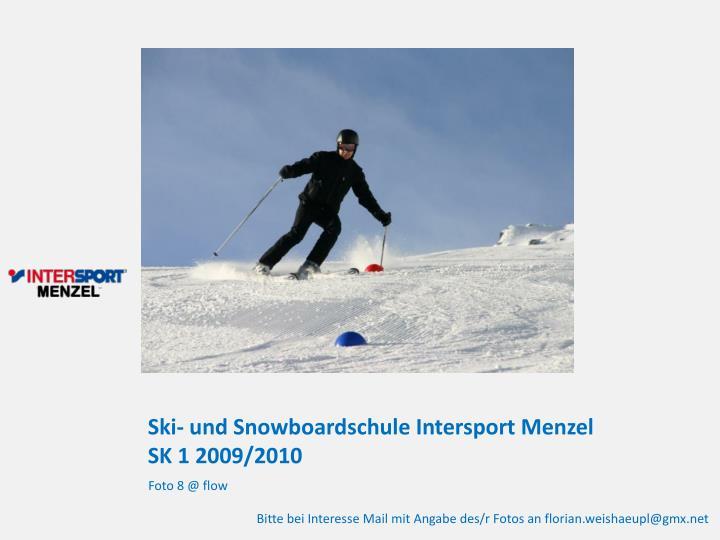 Ski- und Snowboardschule Intersport Menzel