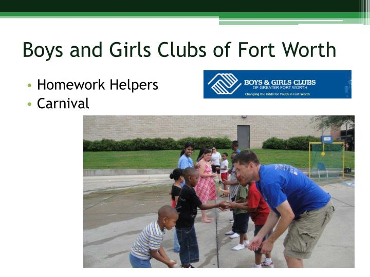 Boys and Girls Clubs of Fort Worth