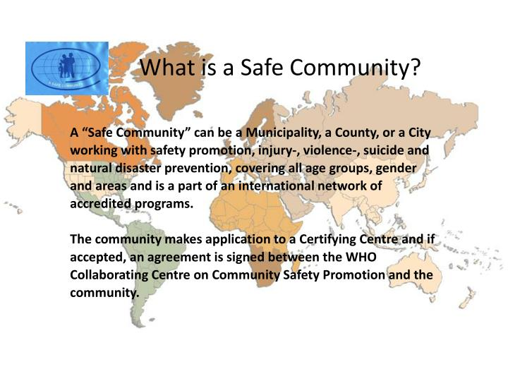 What is a Safe Community?