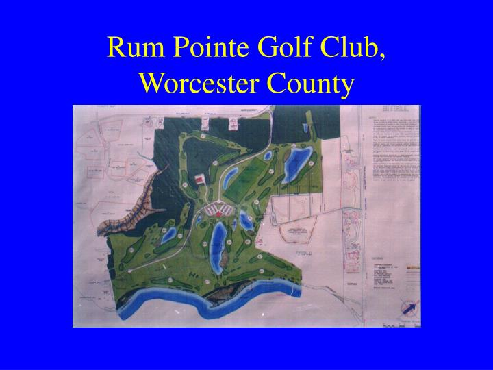 Rum Pointe Golf Club,