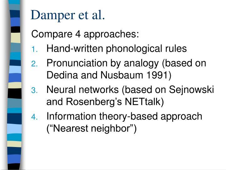 Damper et al.