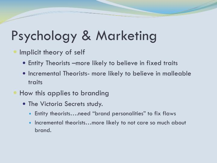 Psychology & Marketing