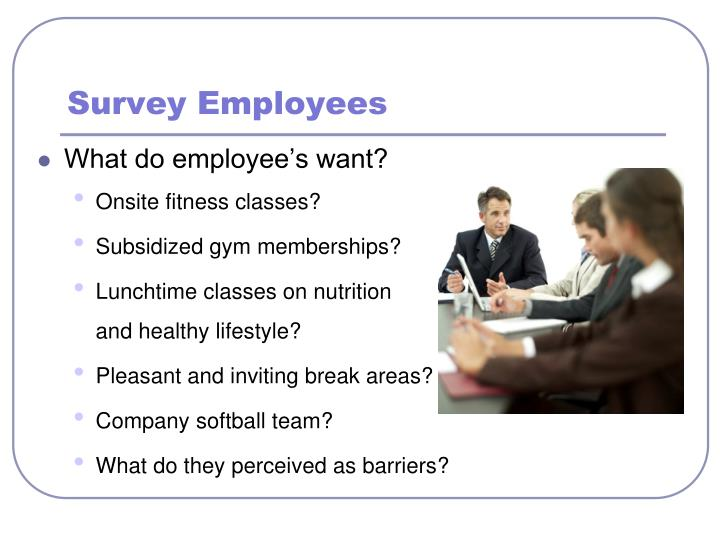 Survey Employees