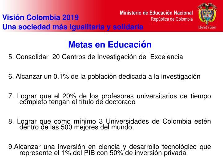 Visión Colombia 2019