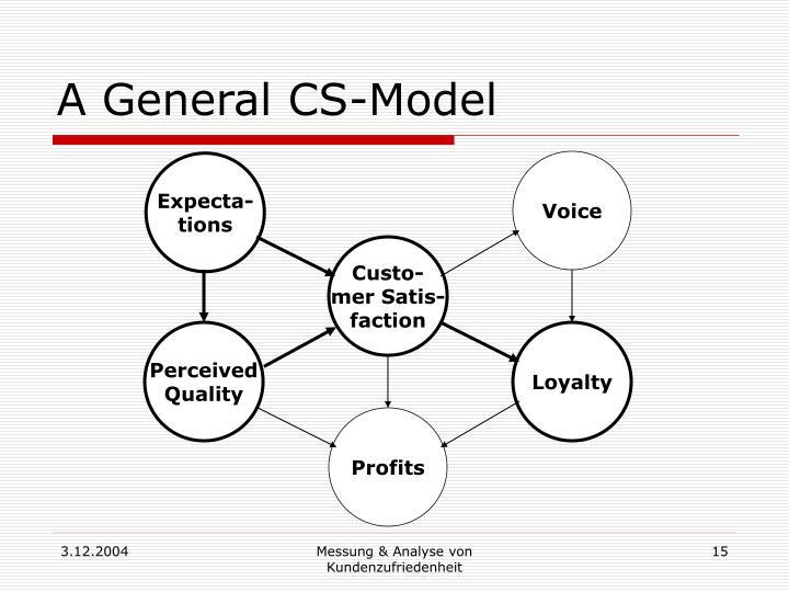 A General CS-Model