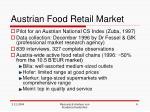 austrian food retail market