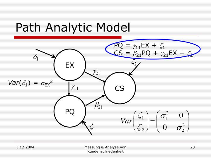 Path Analytic Model