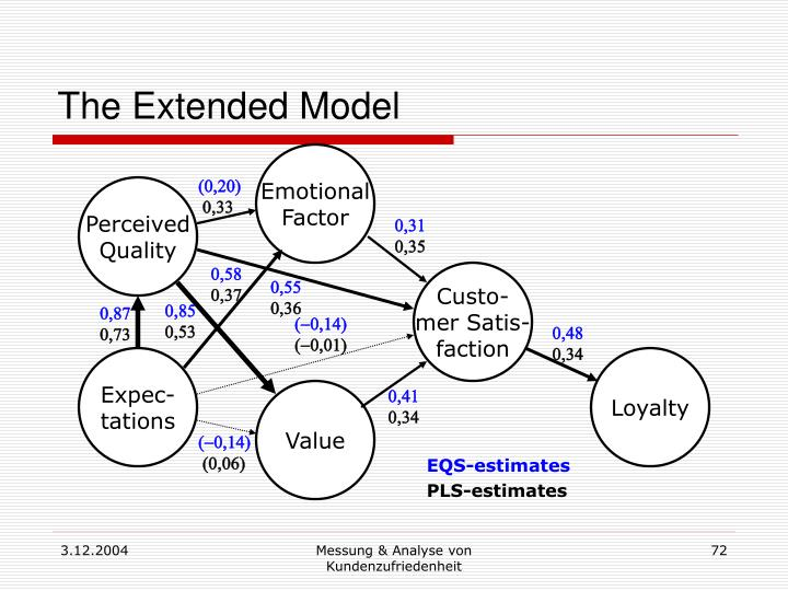 The Extended Model