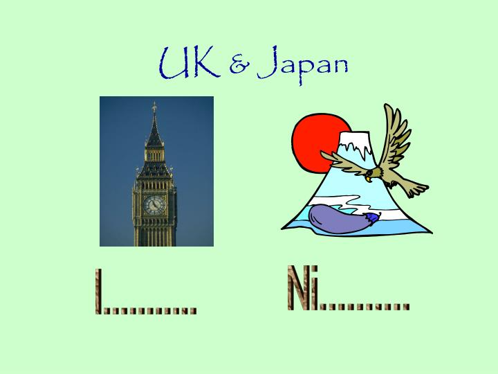 UK & Japan
