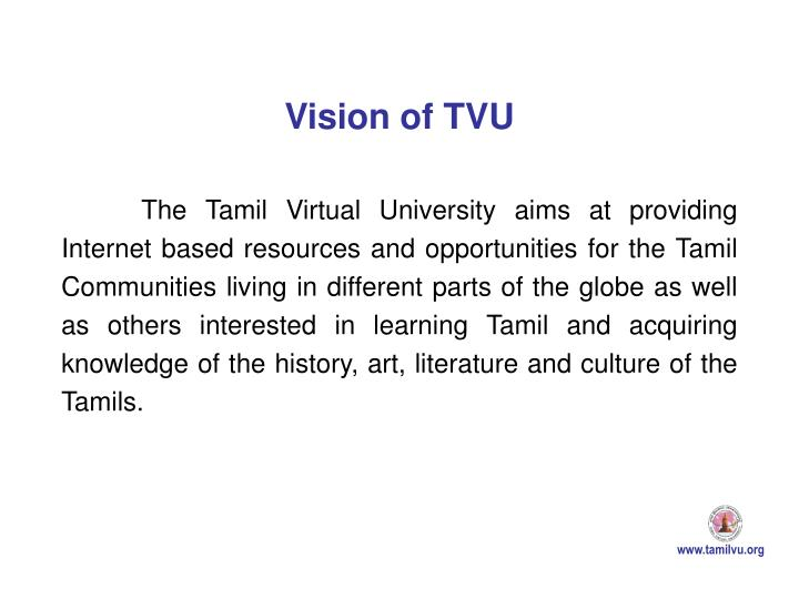Vision of TVU