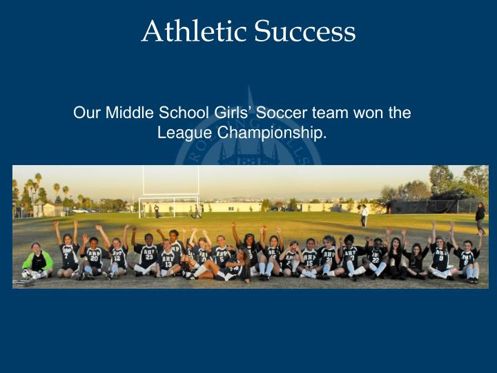 Athletic Success