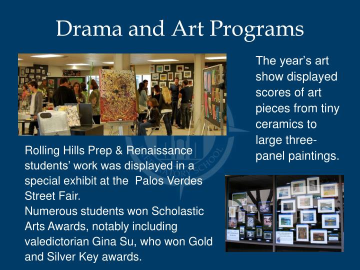 Drama and Art Programs