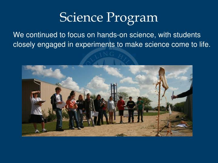 Science Program