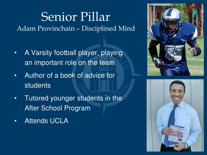 Senior Pillar