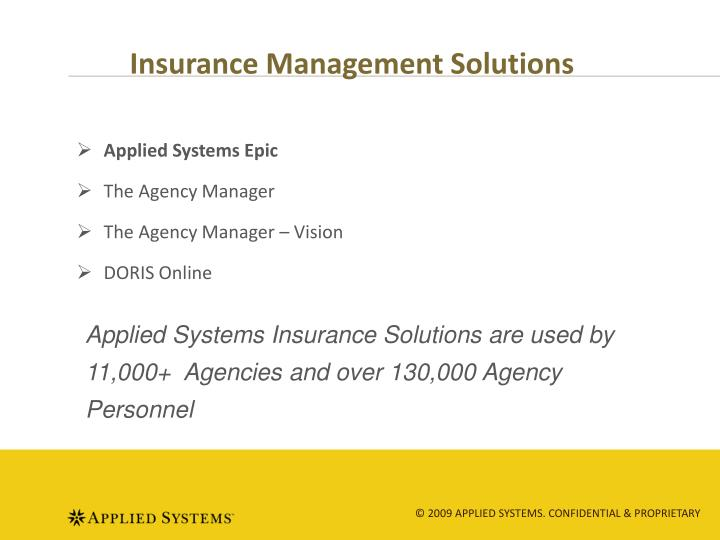 Insurance Management Solutions