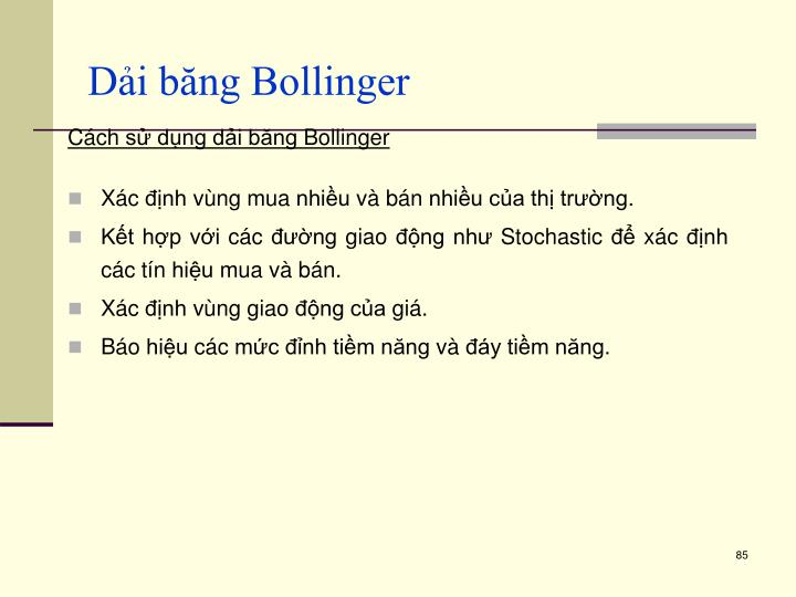 Dải băng Bollinger