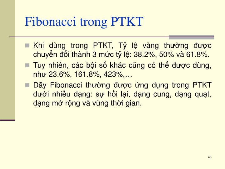 Fibonacci trong PTKT