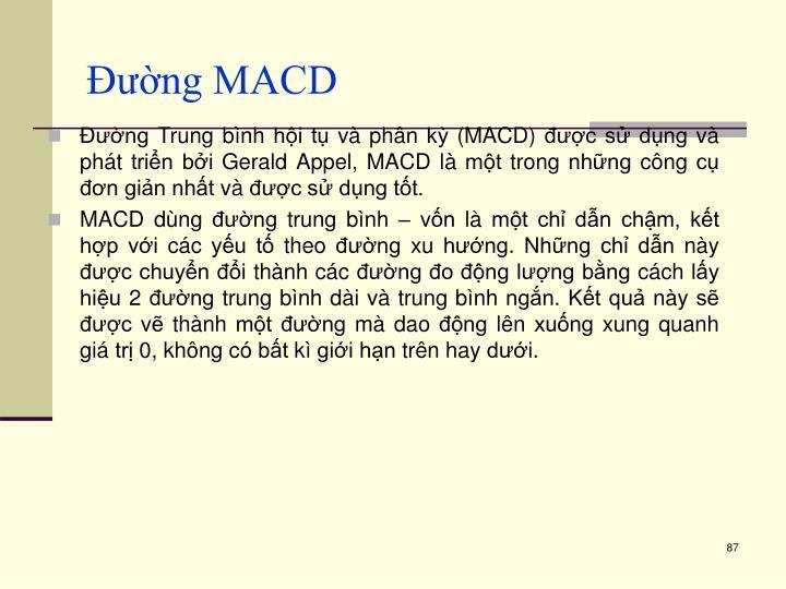 Đường MACD