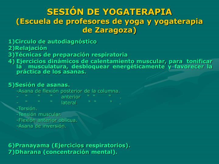 SESIÓN DE YOGATERAPIA