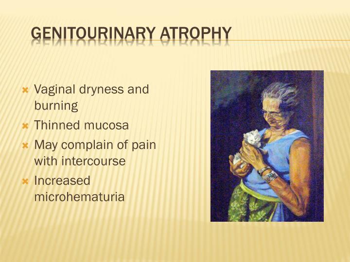 Genitourinary Atrophy