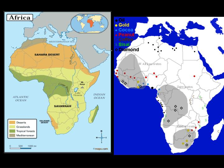 Natural environments of africa