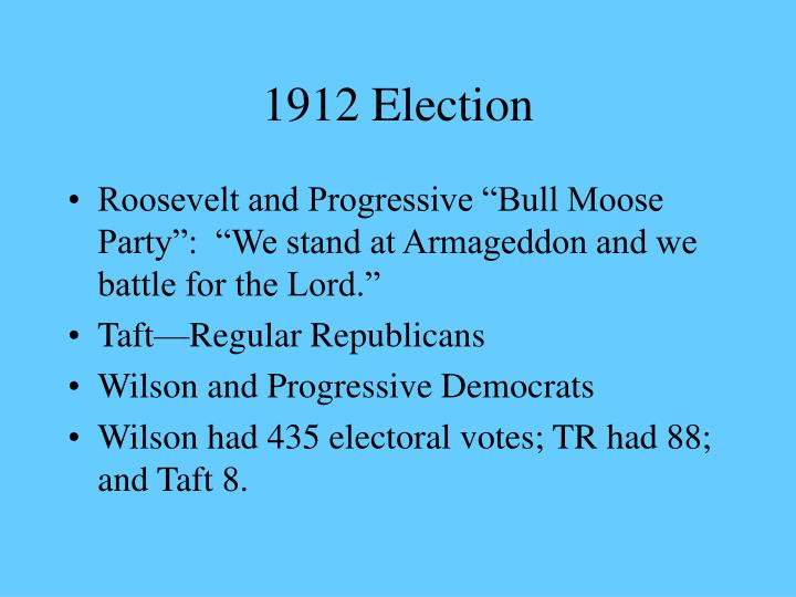 1912 Election