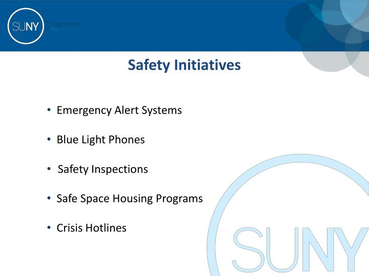 Safety Initiatives