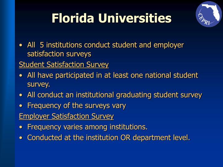 Florida Universities