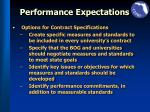 performance expectations1
