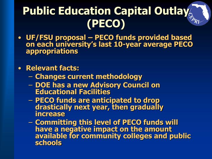 Public Education Capital Outlay