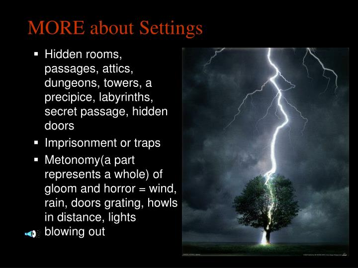 MORE about Settings