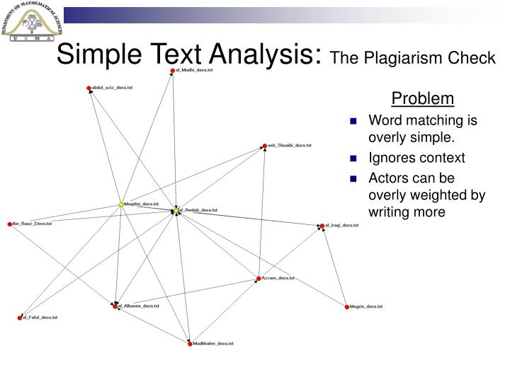 Simple Text Analysis: