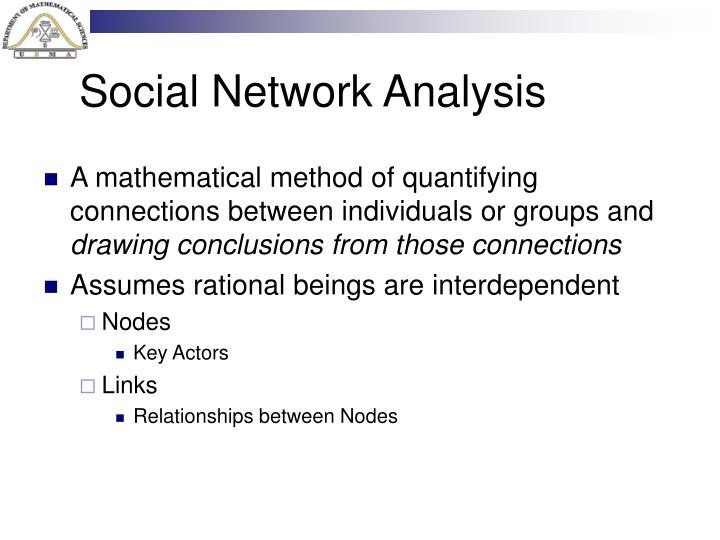Social Network Analysis