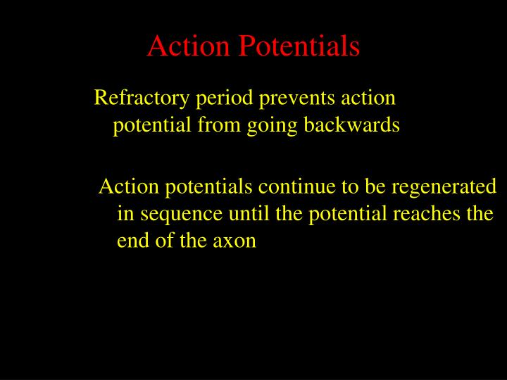 Action Potentials
