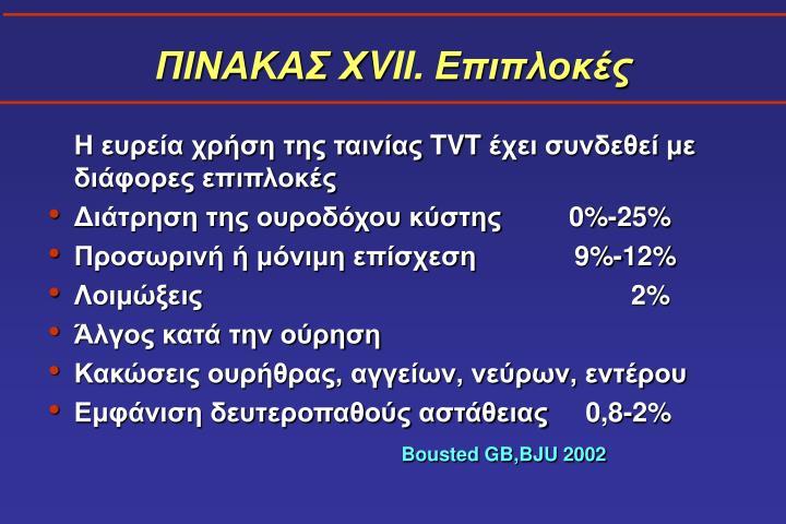 ΠΙΝΑΚΑΣ Χ
