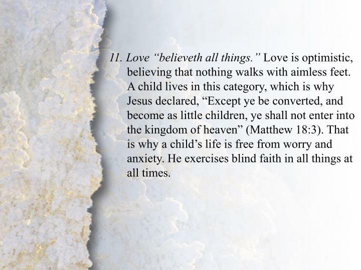 II. Brotherly Love (A-B)
